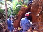 Barranco cede e homem morre soterrado em Ipatinga, no Vale do Aço