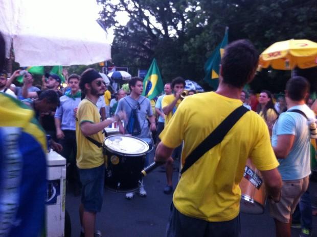 Parcão, Porto Alegre, Protesto, RS (Foto: Giulia Perachi/RBS TV)