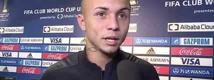 Autor do gol da vitória, Everton fala sobre fama de talismã no Grêmio
