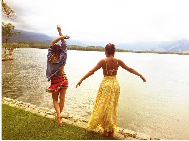 Sasha Meneghel e Bruna Marquezine (Foto: Instagram / Reprodução)