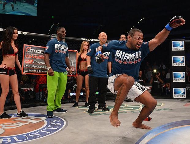 lutador Emanuel Newton, do Bellator. (Foto: Divulgação / Bellator)