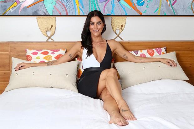 Maria Joana na Casa QUEM (Foto: Daniel Janssens/ Ed.Globo)