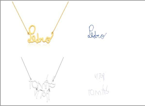 Personalizado: peças de ouro a partir de R$ 1.420 (Foto: Divulgação)