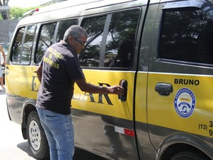 Transporte escolar em Guarujá, SP (Foto: Pedro Rezende / Prefeitura de Guarujá)