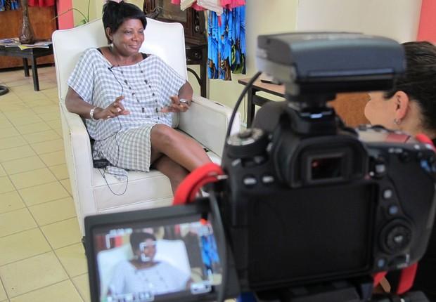 Entrevista em Cuba  (Foto:  (FOTO: THE GIRLS ON THE ROAD))