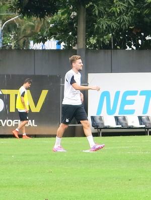 Treino Santos (Foto: Bruno Giufrida)