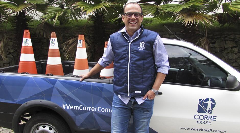Ricardo Ziehlsdorff, fundador da Corre Brasil (Foto: Divulgação)
