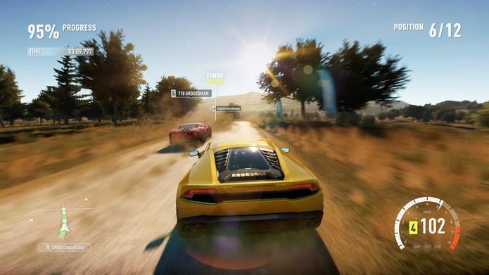 Forza Horizon 2 permite correr com mais de 200 carros (Foto: Divulgação)