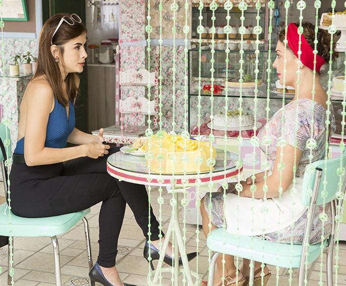 Paulucha não vai reagir bem a notícia de Margot (Foto: Felipe Monteiro/Gshow)