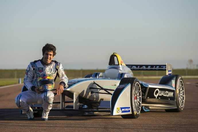 Lucas di Grassi é embaixador da Fórmula E (Foto: Divulgação)