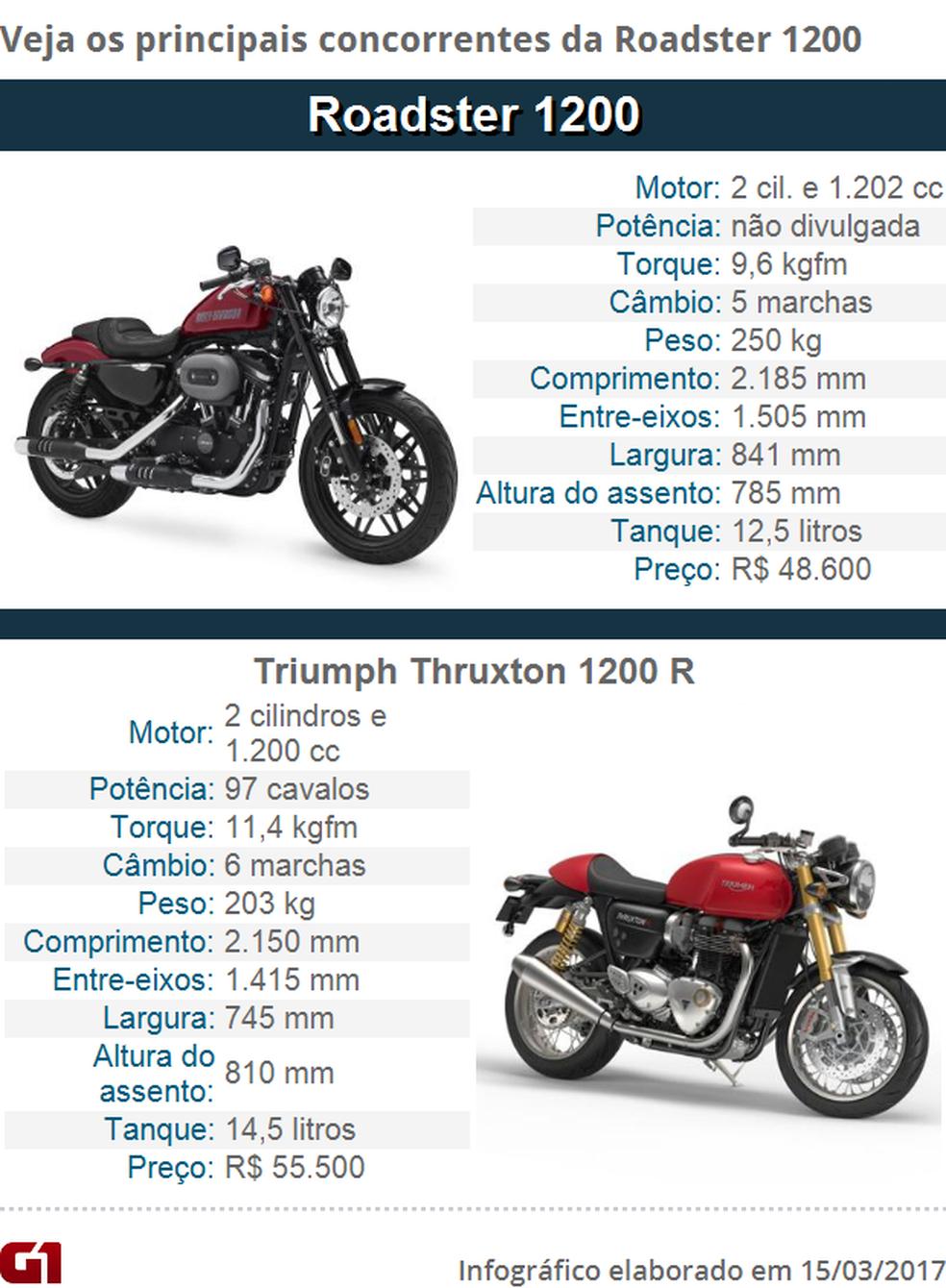Harley-Davidson Roadster (Foto: G1 / Divulgação)