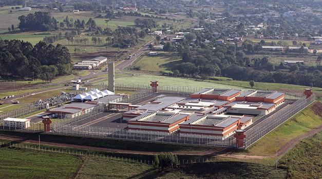 Penitenciária Federal em Catanduvas (PR) (Foto: Depen)