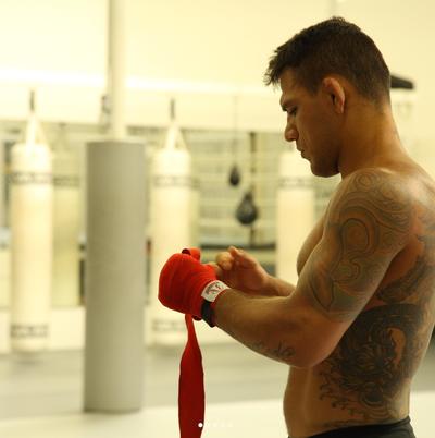 Rafael dos Anjos; UFC (Foto: Reprodução Instagram)