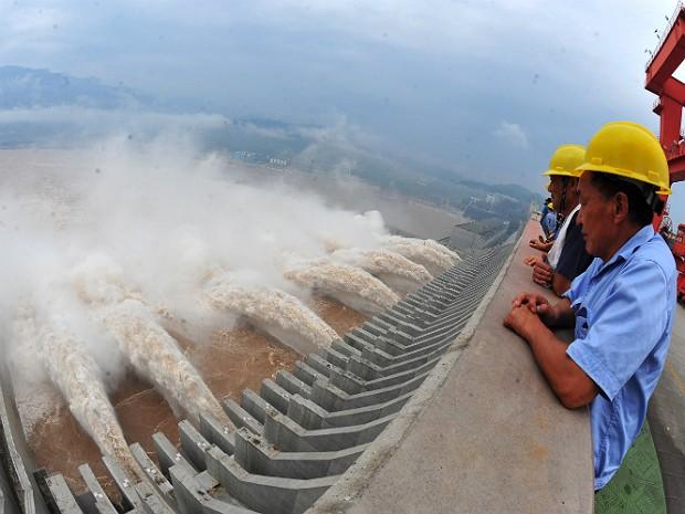 Três gargantas 2 (Foto: China Out/AFP)