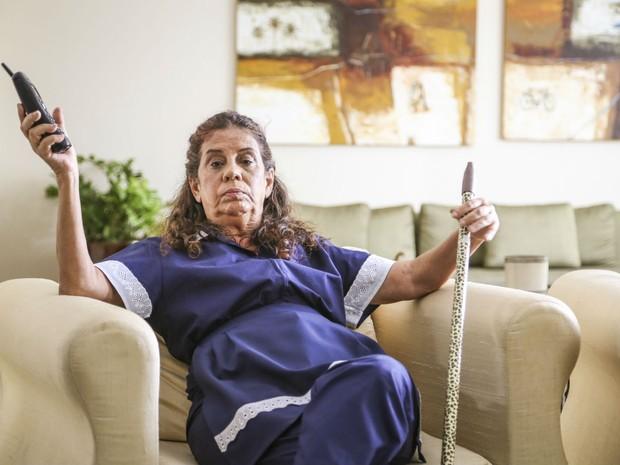 Maria Gladys  Lucilene, na srie 'As Canalhas' (Foto: Pprica Fotografia)