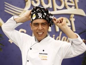 Anderson Müller - Super Chef Celebridades (Foto: TV Globo / Mais Você)