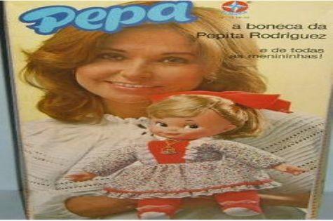 Boneca Pepa, lançada pela Estrela (Foto: Reprodução da internet)
