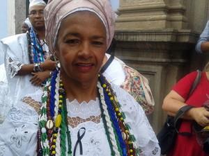 Dia da Baiana de Acarajé (Foto: Maiana Belo/G1)