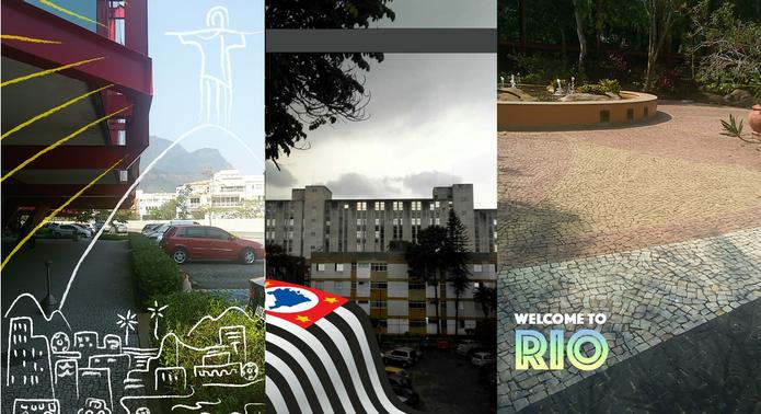 Snapchat geofiltros (Foto: Reprodução/Isabela Giantomaso)