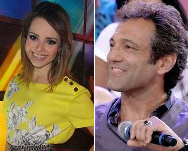 Sandy e Montagner vão participar de papo sobre crise no casamento (Foto: Encontro com Fátima Bernardes/ TV Globo)