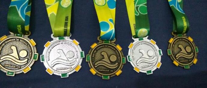 Medalhas  (Foto: Reprodução/Facebook)