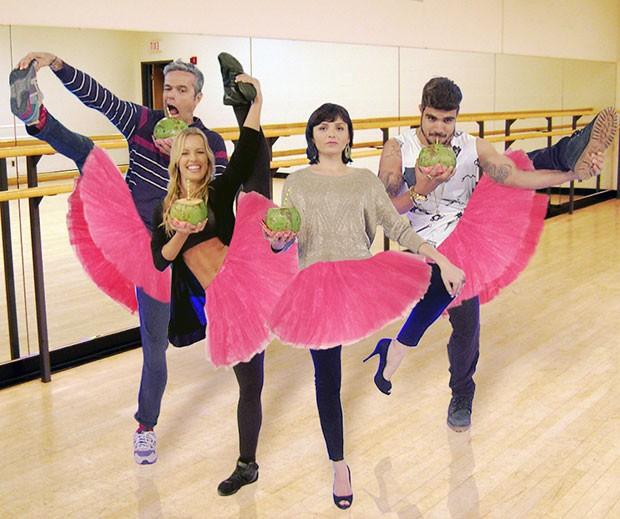 ballet desafio do coco