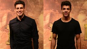 Cauã Reymond e Matheus Abreu mostram semelhança em Dois Irmãos (Foto: João Cotta/Globo)