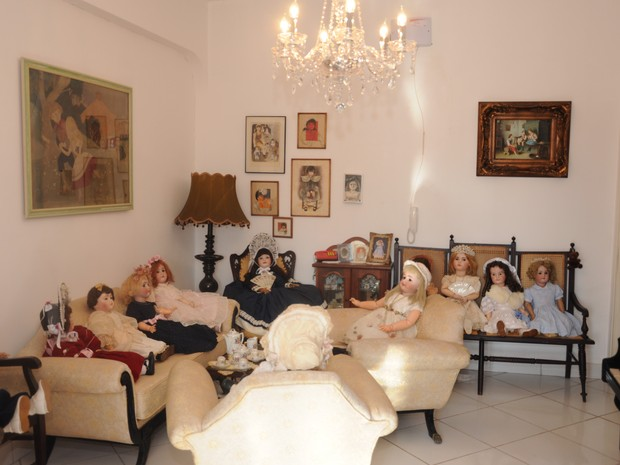 Colecionadoras têm bonecas lançadas mais de 60 anos (Foto: Divulgação/ Museu de Bonecas)