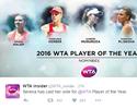 Serena surpreende e revela voto em Kerber para melhor tenista do ano