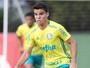 Campeão mesmo sem jogar, Rodrigo deve estrear pelo Palmeiras na Bahia