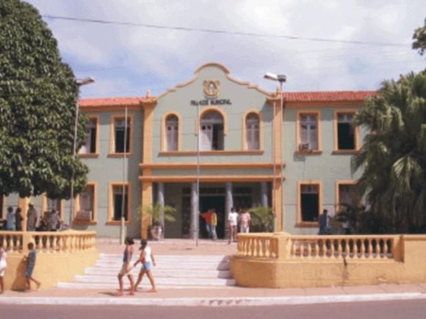 Fachada da Prefeitura de Pedreiras (Foto: Divulgação/Tribunal de justiça do Maranhão)