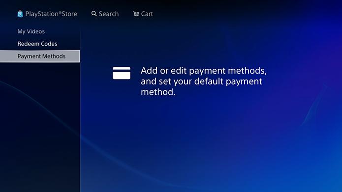 Selecione as formas de pagamento (Foto: Reprodução/Murilo Molina)