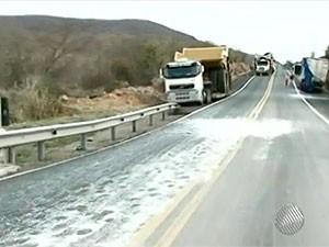 Acidente (Foto: Reprodução/TV Sudoeste)