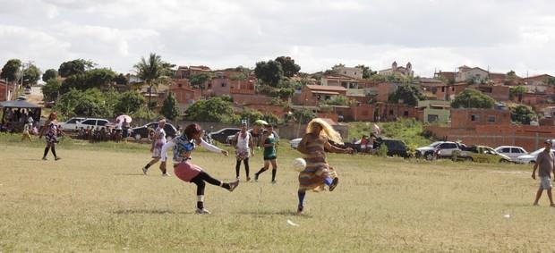40 atletas se reuniram para participar do evento. (Foto: Valdivan Veloso / Globoesporte.com)