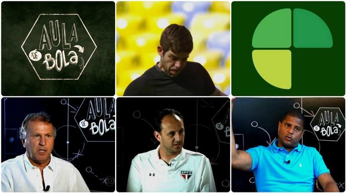 Aula de Bola arte (Foto: arte)