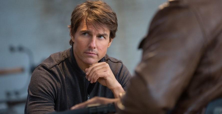 Tom Cruise fazendo a egipcia (Foto: Divulgao)