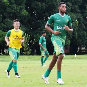 Atacante Dominic reforço do Cuiabá (Foto: Assessoria/Cuiabá Esporte Clube)