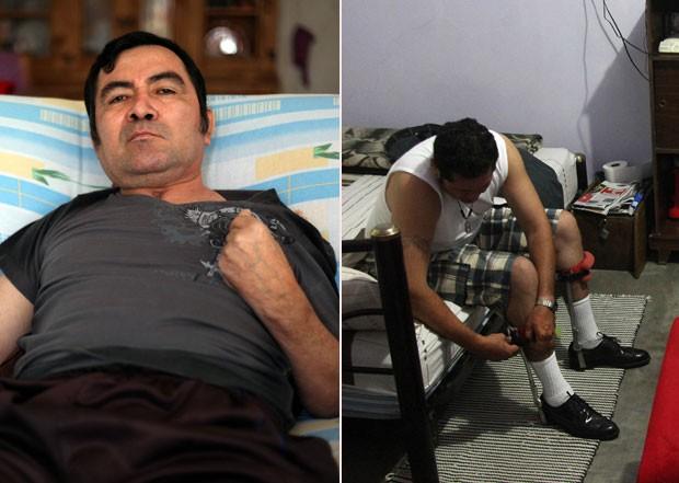 Jacinto Rodríguez Cruz (esq) e José Guadalupe Rodríguez Saldana foram deportados enquanto estavam em coma (Foto: Félix Márquez/AP)