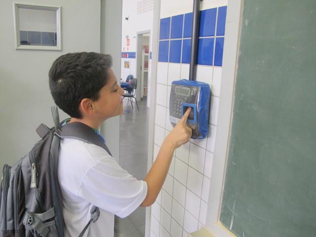 Projeto já contempla oito escolas municipais (Foto: Anna Gabriela Ribeiro/G1)