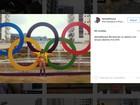 Arcos Olímpicos fazem sucesso na Vila Olímpica, na Zona Oeste do Rio