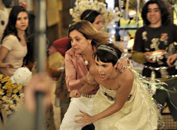 Carminha e Nina estarão de volta na telinha no Novelão (Foto: Divulgação / TV Globo)