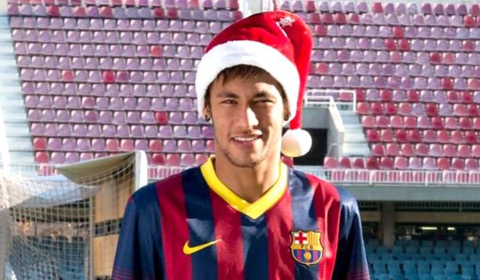 Neymar Barcelona natal (Foto: Reprodução / Twitter)