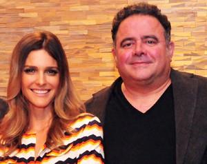 Fernanda Lima e Leo Jaime (Foto: Divulgação / TV Globo)
