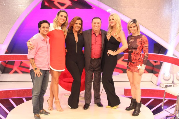 Thammy, Ciça, Rita, Raul, Val e Penélope (Foto: Rodrigo Belentani)