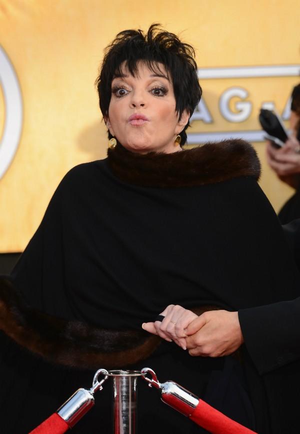 A atriz e cantora Liza Minnelli já foi internada várias vezes (Foto: Getty Images)
