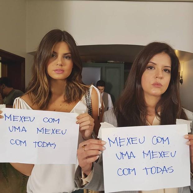 Camila Queiroz e Mariana Santos (Foto: Reprodução/ Instagram)