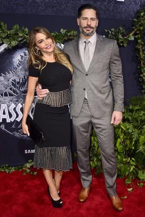 Sofia Vergara e Joe Manganiello em première de filme em Los Angeles, nos Estados Unidos (Foto: Frazer Harrison/ Getty Images/ AFP)