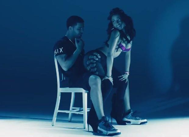 Nicki Minaj e Drake (Foto: Video/Reprodução)