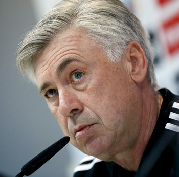 Carlo Ancelotti técnico Real Madrid (Foto: EFE)