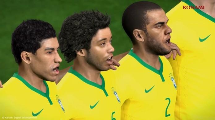 DLC PES 2014 Copa do Mundo (Foto: Reprodução/ Youtube) (Foto: DLC PES 2014 Copa do Mundo (Foto: Reprodução/ Youtube))